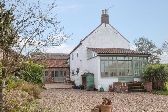 Thumbnail Farmhouse for sale in Back Lane, West Caister, Great Yarmouth