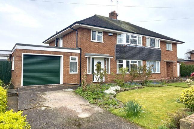 Thumbnail Semi-detached house for sale in Brereton Drive, Nantwich