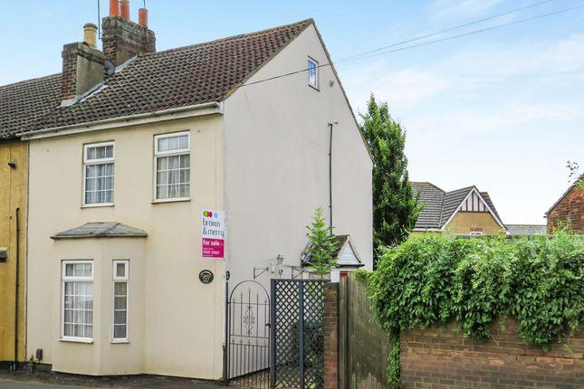 Thumbnail End terrace house for sale in Soulbury Road, Leighton Buzzard