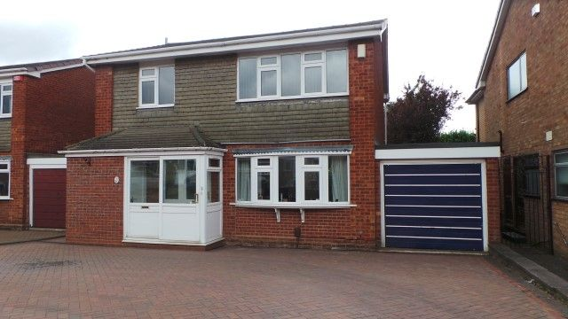 Thumbnail Detached house for sale in Grendon Drive, Sutton Coldfield