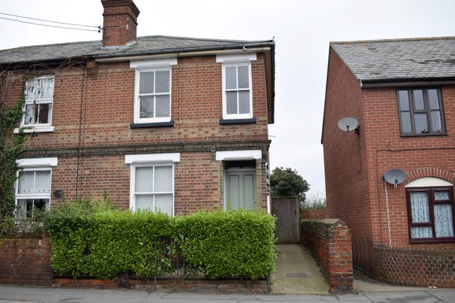 Thumbnail End terrace house for sale in Bridge Street, Witham