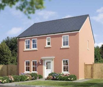 "Thumbnail Detached house for sale in ""The Turriff"" at Stable Gardens, Galashiels"