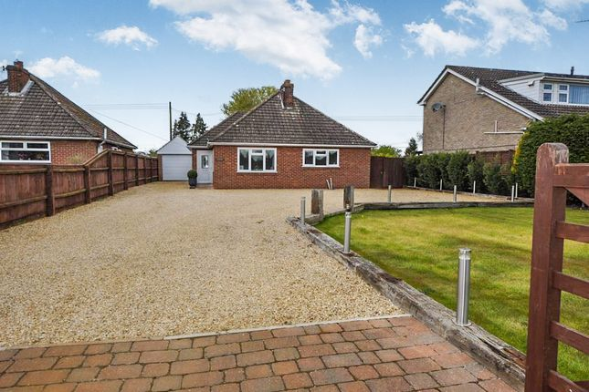 Thumbnail Detached bungalow for sale in Main Road, West Winch, King's Lynn