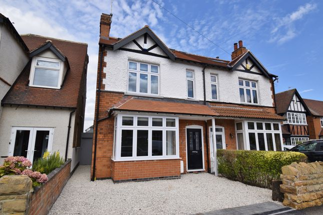 Thumbnail Semi-detached house for sale in Florence Road, West Bridgford