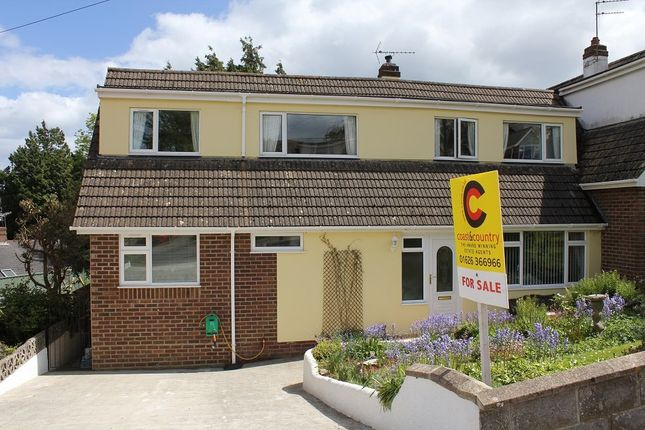 Thumbnail Semi-detached bungalow for sale in Drake Avenue, Torquay