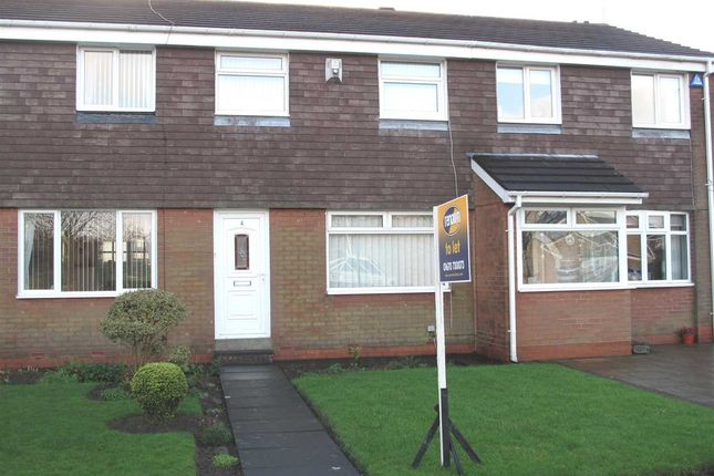 Thumbnail Terraced house to rent in Olney Close, Eastfield Green, Cramlington
