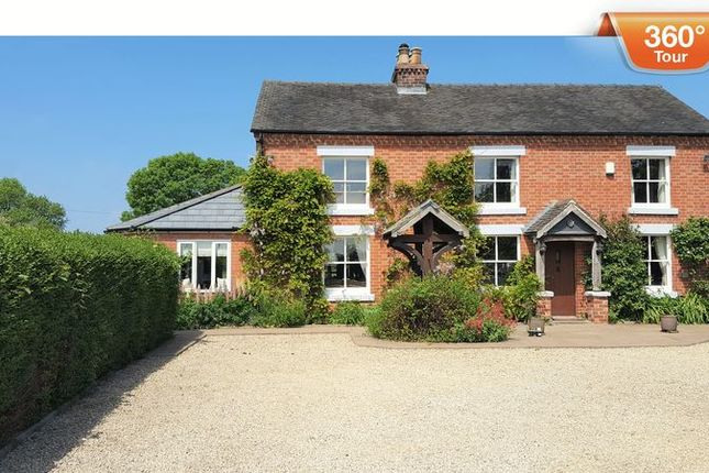 Thumbnail Detached house for sale in Derby Road, Doveridge, Ashbourne