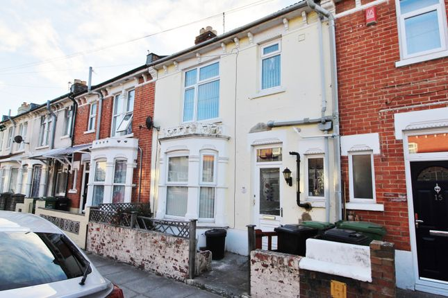 Thumbnail Terraced house to rent in Westbourne Road, Portsmouth