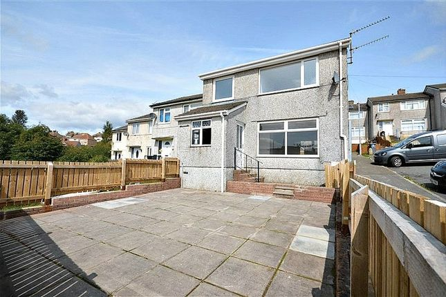 Thumbnail End terrace house for sale in Court Rise, Blaenavon, Pontypool