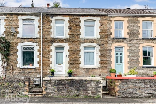Thumbnail Terraced house for sale in Bevans Terrace, Pontrhydyfen