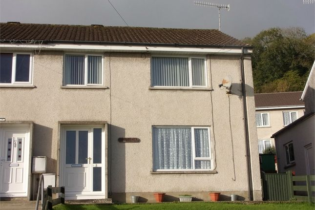 Thumbnail Semi-detached house for sale in 23 Maeshyfryd, St Dogmaels, Cardigan, Pembrokeshire