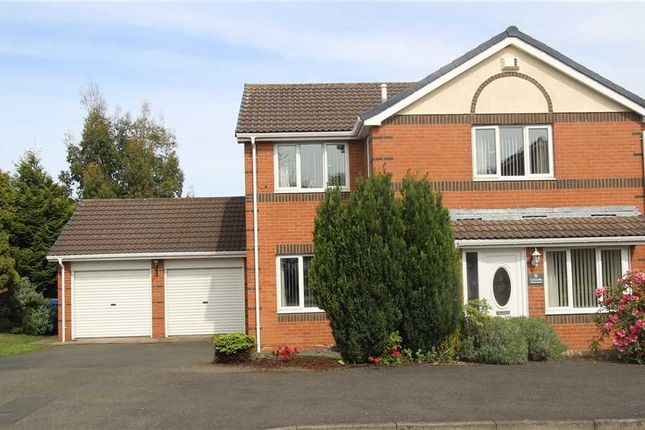 Thumbnail Detached house for sale in Cheadle Avenue, Northburn Dale, Cramlington