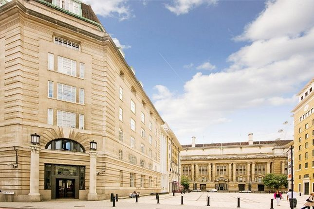 External of South Block, County Hall Apartments, 1B Belvedere Road, Waterloo, London SE1