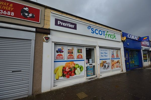 Thumbnail Retail premises for sale in Caldon Road, Irvine, North Ayrshire