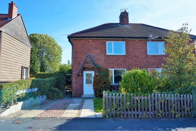 Thumbnail Semi-detached house for sale in West End Avenue, York