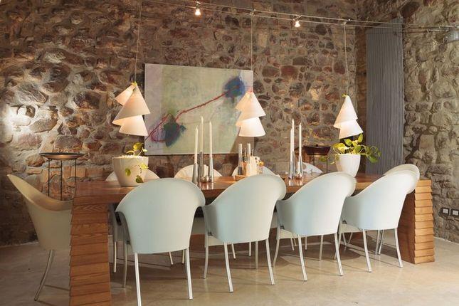Dining of Casa Montecastelli, Umbertide, Umbria