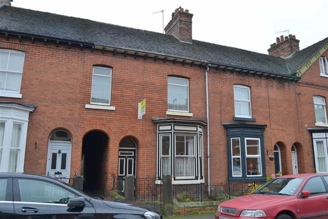 Thumbnail Town house for sale in Southbank Street, Leek