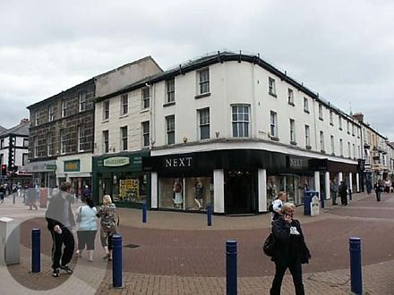 Retail premises for sale in High Street, Rhyl, Denbighshire