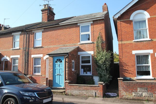 Thumbnail End terrace house for sale in Granville Road, Colchester