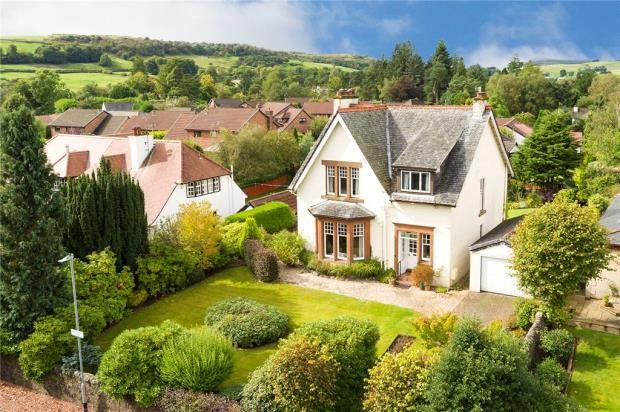Thumbnail Detached house for sale in Florence Drive, Kilmacolm, Inverclyde