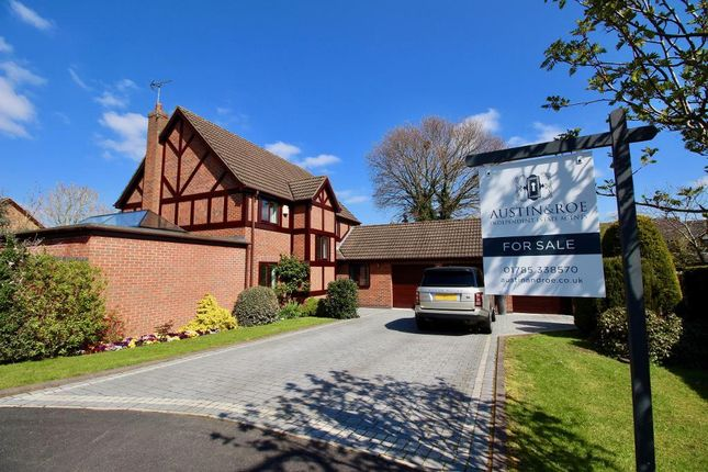 Thumbnail Detached house for sale in Mitchell Rise, Yarnfield, Staffordshire