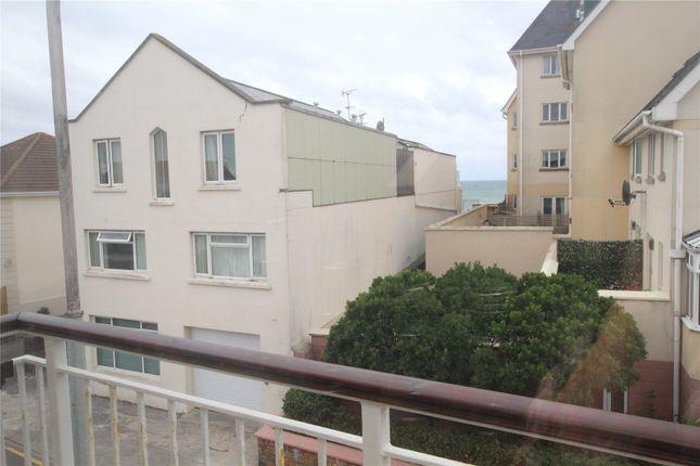 Balcony of Playa Sol Apartments, La Greve D'azette, St Clement, Jersey JE2