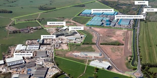 Thumbnail Land for sale in Cheshire Green Employment Park, Wardle, Nantwich, Cheshire