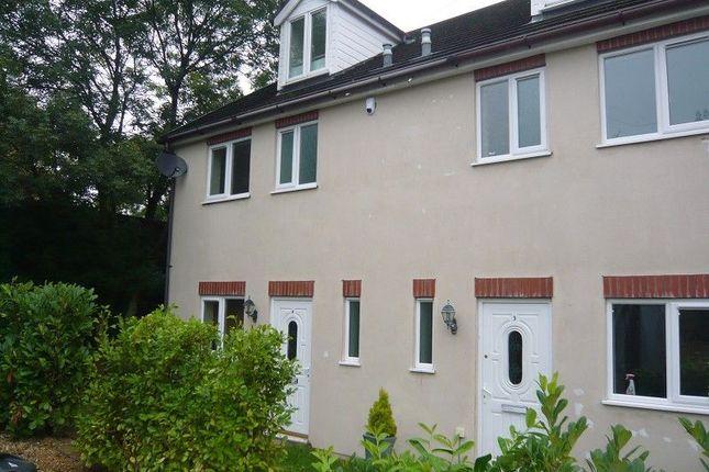 Thumbnail Semi-detached house to rent in Ger Y Bont, Castle View, Bridgend