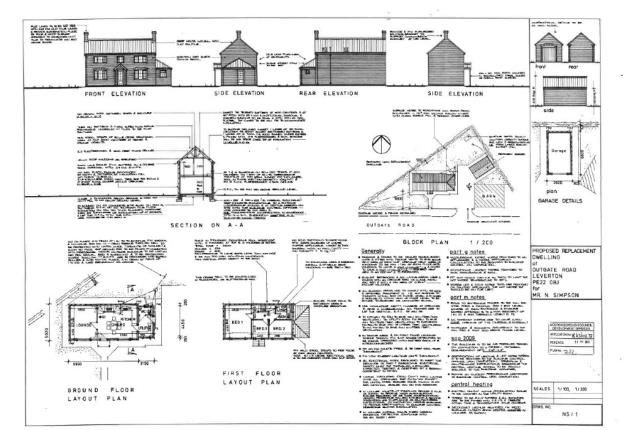 Thumbnail Land for sale in Outgate, Leverton, Boston