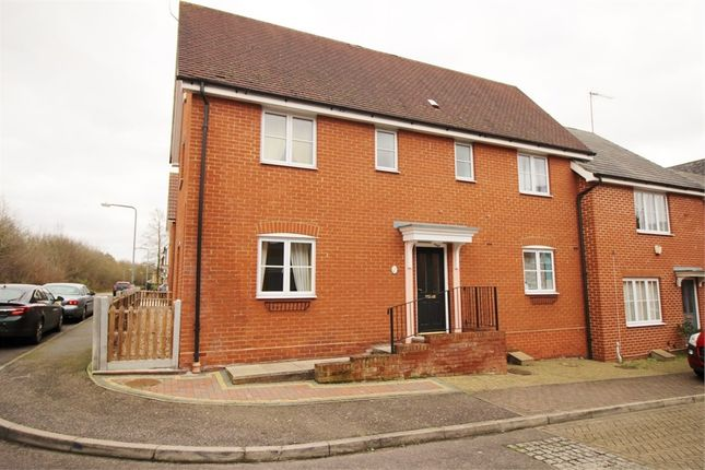 Thumbnail Semi-detached house for sale in Hayden Road, Waltham Abbey, Essex