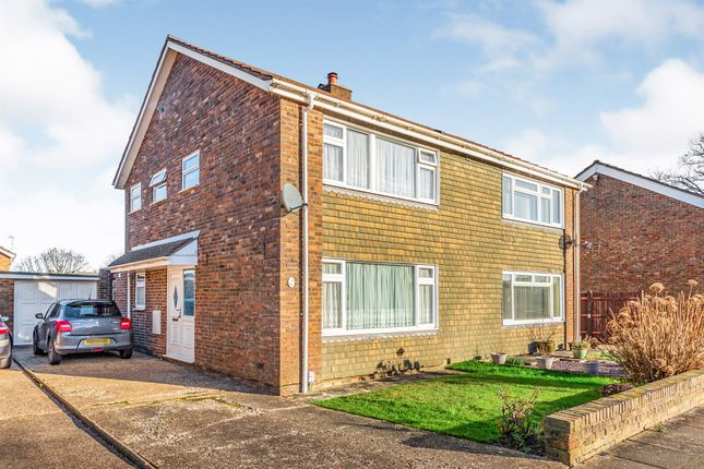 Thumbnail Semi-detached house for sale in Coltash Road, Furnace Green, Crawley