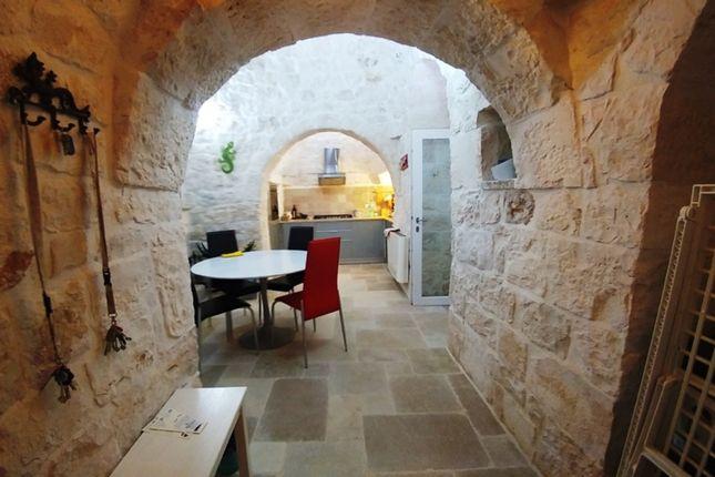 Dining Area of Trullo Povia, Ostuni, Puglia, Italy