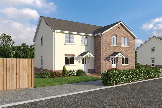 Thumbnail Semi-detached house for sale in Glanfryn Court, Heol Cwmmawr, Drefach, Nr Cross Hands