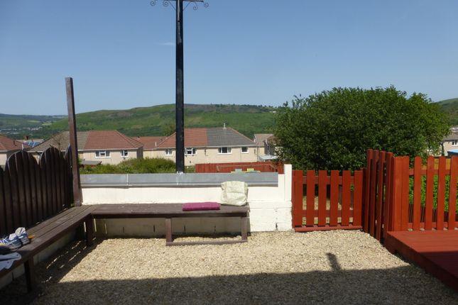 2 bed terraced house to rent in Garth Avenue, Glyncoch, Pontypridd CF37