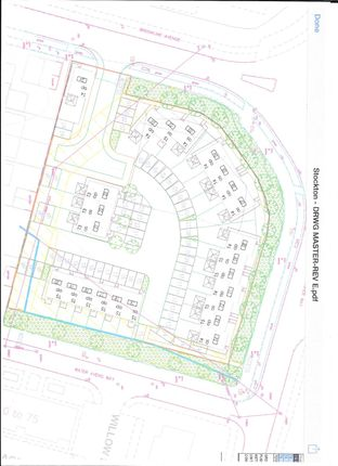 Thumbnail Land for sale in Brooklime Avenue, Stockton-On-Tees