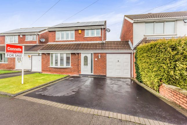 Thumbnail Link-detached house for sale in Sparrow Close, Wednesbury