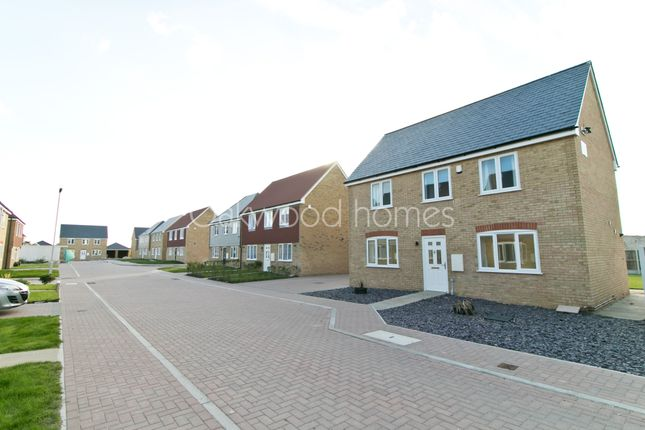 Thumbnail Detached house for sale in Gilmour Road, Manston, Ramsgate