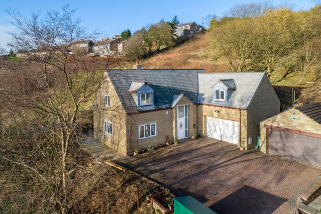 Thumbnail Detached house for sale in Pike Law Lane, Scapegoat Hill, Huddersfield