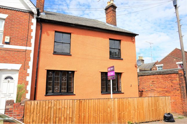 Thumbnail End terrace house for sale in Mill Street, Colchester