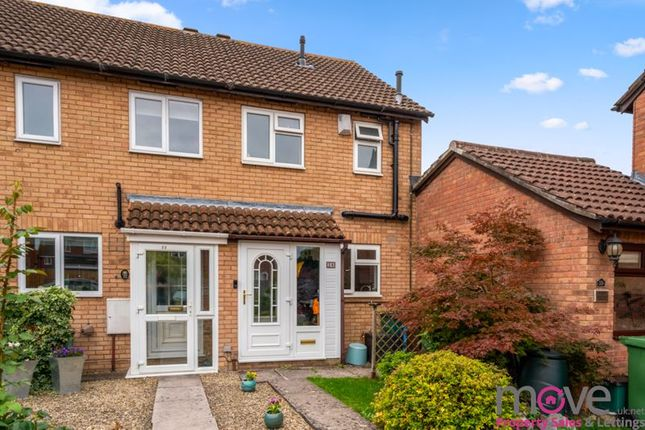 Thumbnail End terrace house for sale in Runnymede, Up Hatherley, Cheltenham