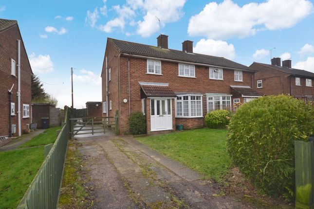 Thumbnail Semi-detached house for sale in Long Ley, Langley Upper Green, Saffron Walden