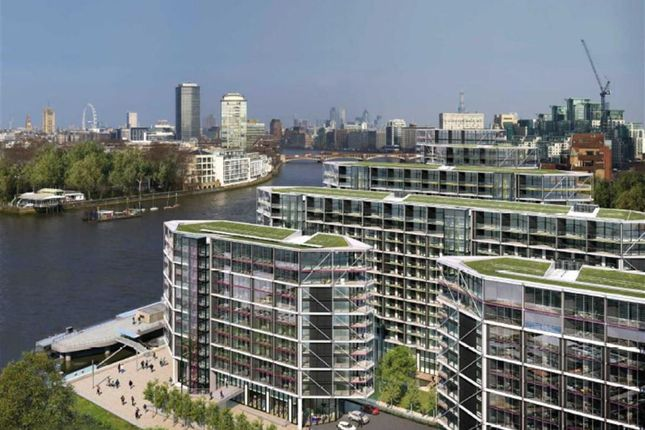 Thumbnail Flat for sale in Five Riverlight Quay, Nine Elms, London