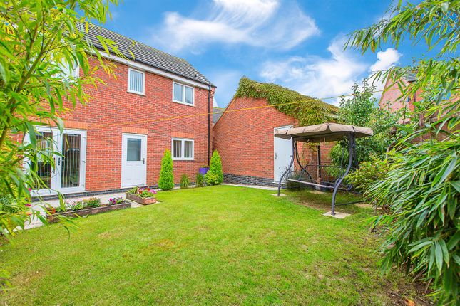 Thumbnail Detached house for sale in Folkestone Drive, Corby