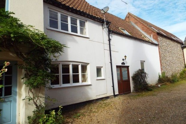 Thumbnail Cottage to rent in Bull Street, Holt