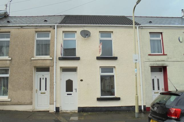 Thumbnail Terraced house to rent in Gadlys Street, Aberdare
