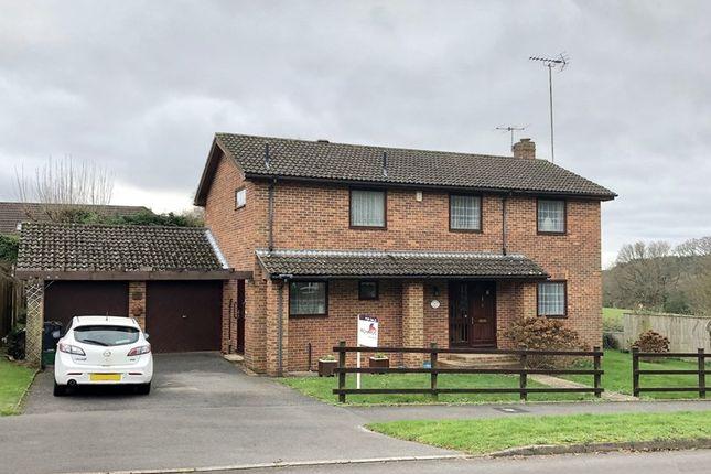 Thumbnail Detached house for sale in Chapel Lane, Corfe Mullen, Wimborne