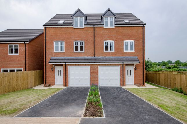 Thumbnail Semi-detached house for sale in Plot 2, The Horton, Healdfield Court, Castleford