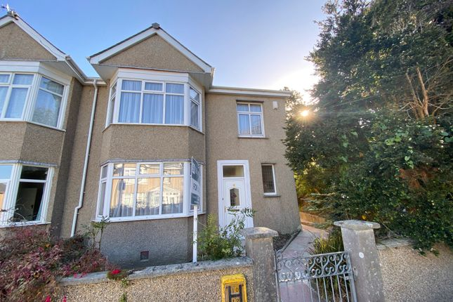 3 bed semi-detached house for sale in Pendarves Road, Penzance TR18