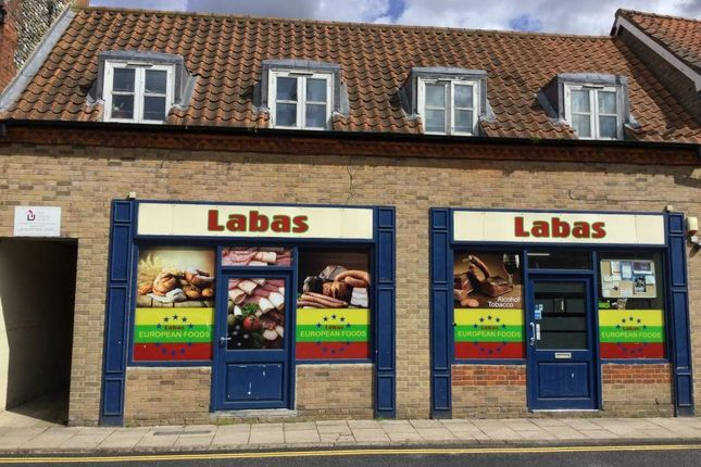 Thumbnail Retail premises for sale in Market Place, Thetford