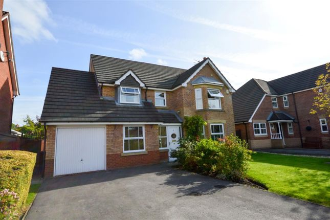 Thumbnail Detached house to rent in Cleabarrow Drive, Worsley, Manchester